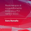 P#11 – Radioterapia di consolidamento toracica e PCI nell'ES-SCLC. Sara Ramella.